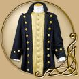Costume -Blue Captain Coat